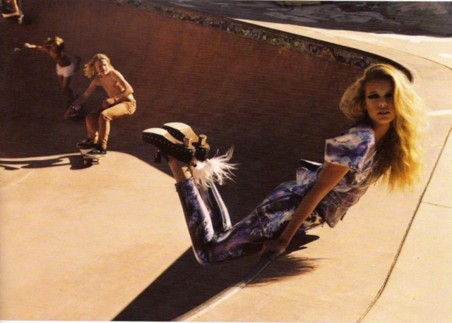 Chicks and skateboards